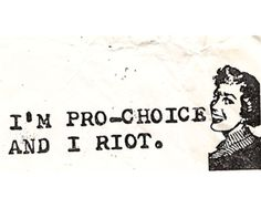 """Well, I may not """"riot"""" but I sure can bitch real well and yell from the hill top even better!"""