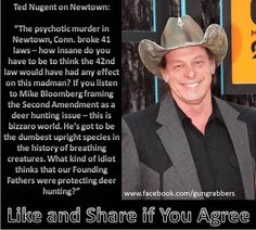 I never liked this guy before, but he is right. Gun Control according to Ted Nugent