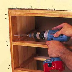 Photo: Geoffrey Gross | thisoldhouse.com | from How to Install Knee-Wall Storage