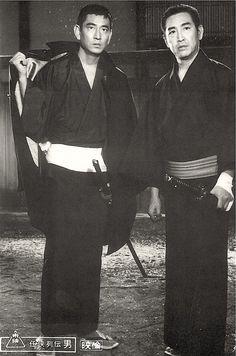 高倉健と鶴田浩二