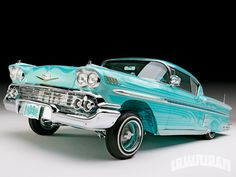 Chris has shown the lowrider community that you can create a 1958 Chevrolet Impala with extreme detail and innovative billet machining. - Lowrider Magazine