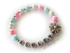 Custom Personalized Pearl Girls Name Flower by BestGifts4Kids, $3.50