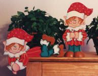 Christmas Elves - WOOD PATTERN $5.95