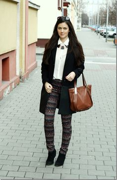 Printed trousers from HM