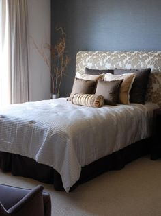 Step-by-step instructions for making an upholstered headboard from HGTV.com