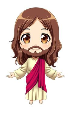 the infant jesus by Dark-kanita on DeviantArt Image Jesus, Jesus Christ Images, Jesus Faith, Christian Drawings, Christian Art, Jesus Drawings, Cute Drawings, Miséricorde Divine, Jesus Cartoon