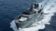 SUPERYACHT CHARTER: Cruise the Mediterranean Aboard This Floating Fortress | Boating & Yachting