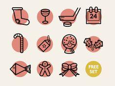 (Free) Christmas icons