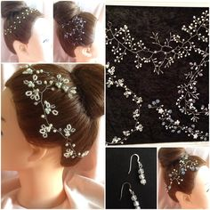 Bridal hair accessories by Artisan Finery