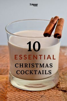 Looking for the best Christmas cocktails? You've found them. Since the day after Thanksgiving, you've been subjected to countless Christmas carols, masses of tinsel and hoards of crazed shoppers. But now, it's finally time to actually enjoy the holiday. No matter if you're planning a big family meal or something more low-key, we suggest you fix a few of our favorite #Christmas #cocktails . (They're so good you'll want to make them even if you're not celebrating the holiday.)