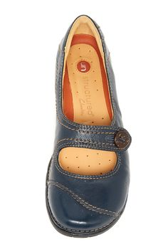 blue Mary Janes