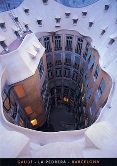 Awesome building (for trade) - Pati Interior, LaPedrera, Bacelona