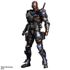 Batman Arkham Origins Play Arts Kai Action Figure Deathstroke 27 cm