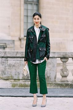 Vanessa Jackman: Paris Fashion Week AW 2013....Caroline
