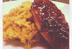 Fast Paleo » Rosemary Chicken with Orange Maple Syrup Glaze