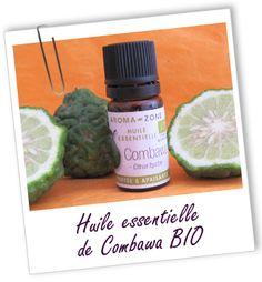 Huile essentielle Combawa BIO Aroma-Zone http://lumierespournosdefunts.blogspot.fr/