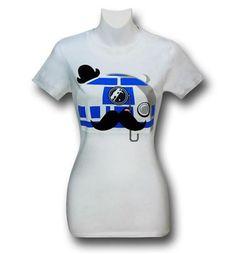 Star Wars Fancy R2D2 Women's T-Shirt