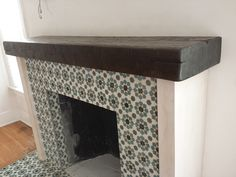 Distressed beam mantel shelf  .  Call for quote.   310 977 3218
