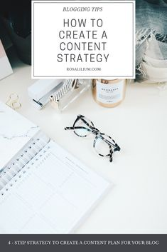 How to create a content strategy Blog Tips, Content Marketing, Creative Business, Seo, Exercises, Blogging, Productivity Hacks, Social Media, How To Plan