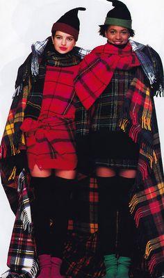 Oliviero Toscani for Elle magazine, October 1987.