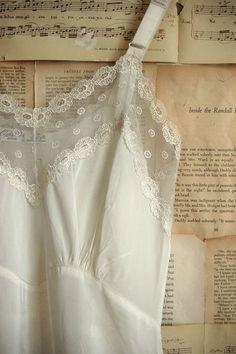 ~Always wore a slip under a dress,skirt