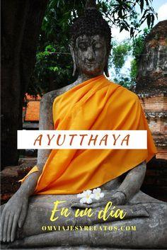 Ayutthaya en un día: qué ver en un día en Ayutthaya. #Ayutthaya #Tailandia