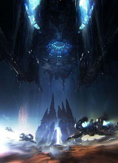 Sci-Fi Art: Convergence - 2D Digital, Concept art, Sci-fiCoolvibe – Digital Art