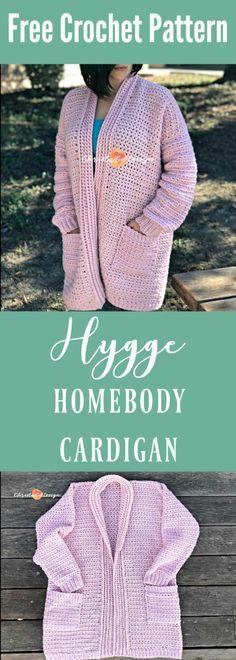 hygge homebody crochet cardigan