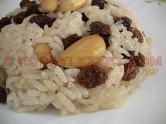 BADEMLİ SARAY PİLAVI Food Blogs, Pasta, Brunch, Food And Drink, Cooking Recipes, Foods, Kitchens, Rice, Kochen
