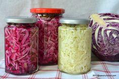 Varza murata tocata la borcan pentru iarna - salata de varza acra rapidă   Savori Urbane
