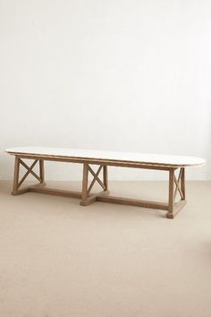 Lacquered Farmhouse Table - anthropologie.com