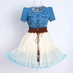 Country Wedding Bridesmaid: cowboy dress 108 by YL1dress on Etsy, $69.00
