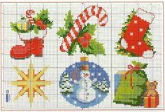 Brilliant Cross Stitch Embroidery Tips Ideas. Mesmerizing Cross Stitch Embroidery Tips Ideas. Cross Stitch Christmas Ornaments, Xmas Cross Stitch, Cross Stitch Fabric, Cross Stitch Cards, Cross Stitch Alphabet, Christmas Embroidery, Christmas Cross, Cross Stitching, Cross Stitch Embroidery