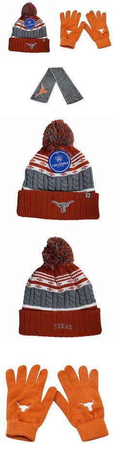 promo code 8b897 cfa3f Hats 57884  Ncaa Texas Longhorns Knit Gloves Altitude Beanie Hat And Hail  Scarf 3Pk 38636 -  BUY IT NOW ONLY   45.99 on eBay!