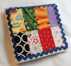 Quiet Fabric Book for Baby by WoodPondDesigns