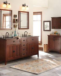 Artisan Double Bath Vanity. $999 [home decorators collection]