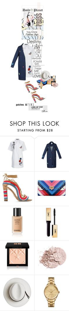 """""""The look"""" by wodecai ❤ liked on Polyvore featuring Steve J & Yoni P, Paula Cademartori, Givenchy, Chanel, Calypso Private Label and Lacoste"""