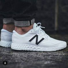 Follow my guy @hoodsfashion  New balance 1980s - wish I could keep mine so clean !  @perfecturbanstyle