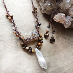 Crystal amulet necklace - can't decide - LOVE them all :)