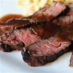 Grilled Coffee and Cola Skirt Steak Allrecipes.com