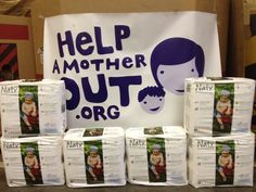 So far we have had 6 families participate in our Help A Mother OutCampaign! Thank you to all those who have uploaded photos of their EarthBaby in Nature Babycare diapers.     But I know we can do better! Please share this pin to help us donate more diapers to families in need this holiday season.    To participate please post a picture of your EarthBaby in their Naty diapers and EarthBaby will donate a pack of diapers to Help A Mother Out!