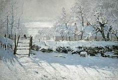 Claude Monet - De ekster