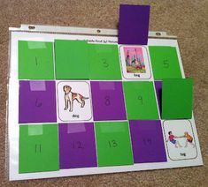 Speech Card Set Activity: What's hiding behind door number...?