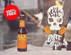 """Check out new work on my @Behance portfolio: """"Free Beer Venecia Mockup"""" http://be.net/gallery/54280997/Free-Beer-Venecia-Mockup"""