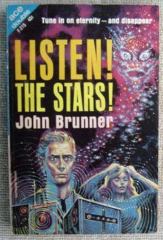 Ace Double F215 John Brunner Listen The Stars Jane Roberts The Rebellers   eBay