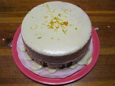 The Snow Child: Orange Cake (Vegan) Recipe