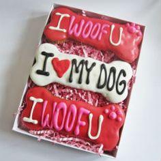 Valentine Treats Gift Sets for Dogs