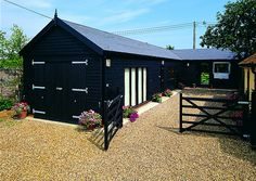 High quality timber stables by Scotts of Thrapston, via Flickr