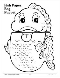 Gingerbread Man Craft Activity: Printable Paper Bag Puppet Templates ...