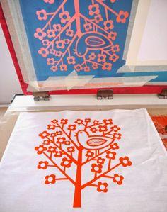 screen print bags (jane foster)